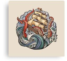 The Kraken Canvas Print