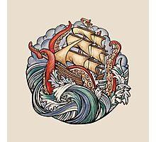 The Kraken Photographic Print