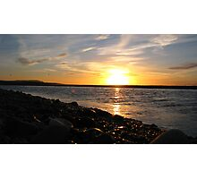 River Spey Sunset Photographic Print