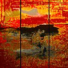 Abstract series Triptych  by Martin Dingli