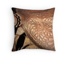 Saddle Up! Throw Pillow