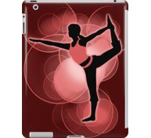 Super Smash Bros. Red Wii Fit Trainer (Female) Silhouette iPad Case/Skin