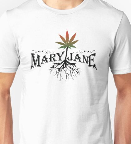 Earthy Mary Jane Roots Unisex T-Shirt