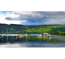 Loch Ness Jetty Photographic Print