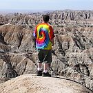 When Past And Present Meet - Badlands National Park, SD by Rebel Kreklow