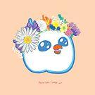 Pandabird in Spring - Orange! by nushie