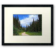 Bear Country (Big Mountain Ski Resort) Framed Print