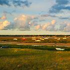 Normandy Sunset  by Maciej Markiewicz