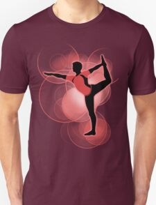 Super Smash Bros. Red Wii Fit Trainer (Male) Silhouette Unisex T-Shirt