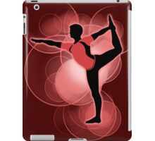 Super Smash Bros. Red Wii Fit Trainer (Male) Silhouette iPad Case/Skin