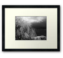 Winter's Dirge Framed Print