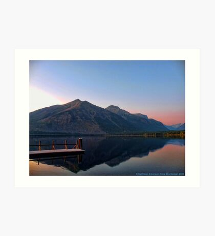 Lake MacDonald 3 Art Print