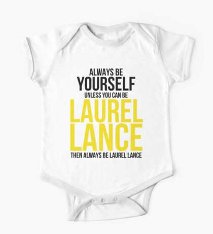 Always Be Laurel Lance One Piece - Short Sleeve