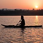 Sunrise on Lake Tana by Karen Millard