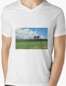 Two Trees Mens V-Neck T-Shirt