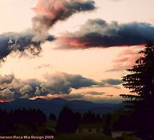 Big Mountain Evening by rocamiadesign