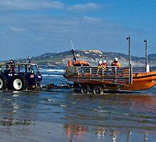 Bringing In The Lifeboat by Susie Peek