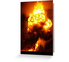 Towering Inferno Greeting Card