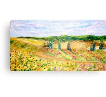 Blooming Fields Canvas Print