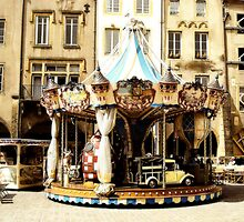 Carousel, Metz, France by D80lady
