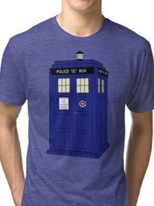 The Tardis Tri-blend T-Shirt