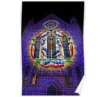 York Minster light up Poster