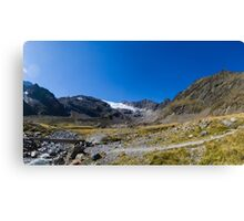 Tibet - or am I still in The Tyrol Canvas Print