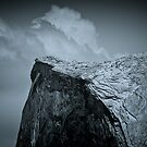Yosemite Half Dome - A Sense of Scale by Kurt Golgart