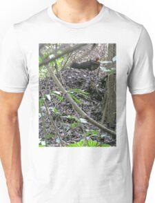 Australian Brush Turkey on his mound Unisex T-Shirt