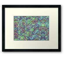 Between the Brains Framed Print