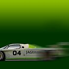 Jaguar GTP by Timothy Meissen
