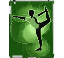 Super Smash Bros. Green Wii Fit Trainer (Male) Silhouette iPad Case/Skin
