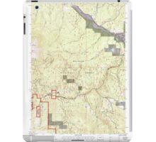 USGS Topo Map Oregon Bates 278952 1996 24000 iPad Case/Skin