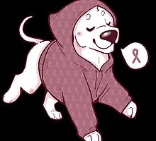 Breast Cancer Awareness Dog by thehappydog