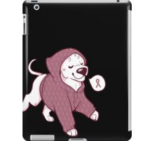 Breast Cancer Awareness Dog iPad Case/Skin