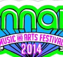 Bonnaroo Music Festival 2014 Sticker