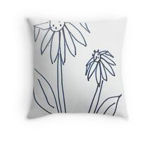Crazy Daisey sketch, from series, and soon to be Calenders Throw Pillow