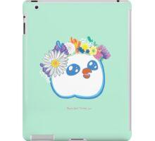 Pandabird in Spring - Green! iPad Case/Skin