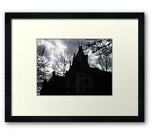 Gothic Sky Framed Print