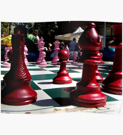 Garden Games At Kings Cross Poster