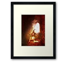 one lone witch Framed Print