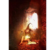 one lone witch Photographic Print