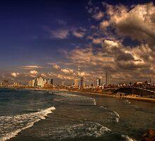 Tel Aviv Promenade by Reuven Brenner