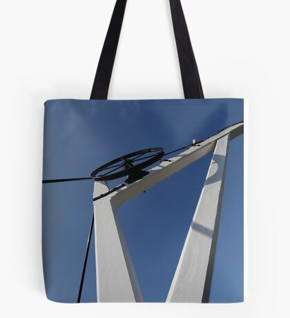 19th Centry Crane - Newbury Warf Tote Bag