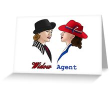 The Agent and The Widow Greeting Card