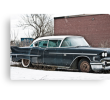 58 Caddy Canvas Print