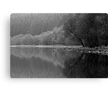 Loch Lubnaig - On A Misty Morning Canvas Print