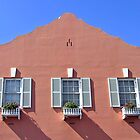 3 Windows - Bermuda by Debbie Pinard