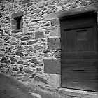 ruralscapes #99, stone & wood  by stickelsimages