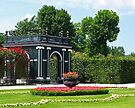 A Garden at Schonbrunn by Lee d'Entremont